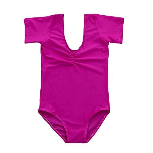 dchen Tanzkleidung Baby Trikots Ballett Overall Dancewear Gymnastik Klassische Elegante Outfits ()