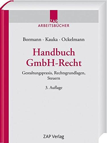 Handbuch GmbH-Recht