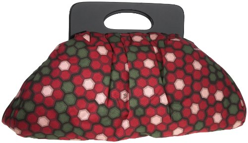 Billy Bag - Borsa a mano, Donna Rosso (Rot (Red))