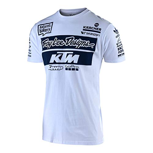 Troy Lee Designs T-Shirt KTM Team Weiß Gr. XXL