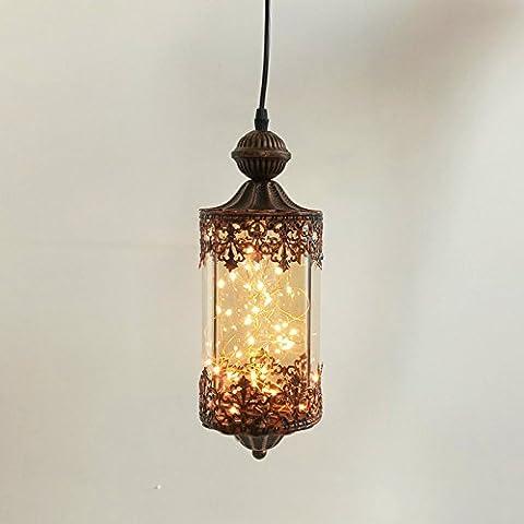 larsue verre pendentif lampe _ Creative Cafe Lampe en verre Série Pendentif lampe décoration simple pendentif lampe