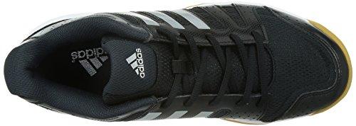 adidas Ligra 3, Chaussures de Volleyball Homme Noir / Argent / Gris