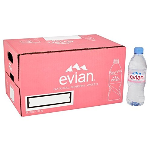 Evian Natural Mineral Water 500ml x 24 Bottles