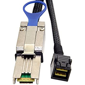 Chenyang externe Mini SAS 4/x SFF-8088/vers mini SAS haute densit/é HD SFF-8644/serveur de donn/ées RAID c/âble 50/cm