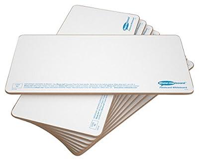 Show-me Plain 'Rigid' Drywipe Flashcards, 10 by Eastpoint Global