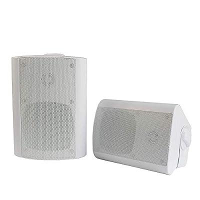 Herdio 4 Inch Altoparlante Bluetooth Esterno Impermeabile con 200 Watt Patio Esterno a Parete Per Esterno, Camper, Giardino, Terrazza, Ristorante, Home Theatre, Sala Conferenze, Aula,Bar occasione da Polaris Audio Hi Fi