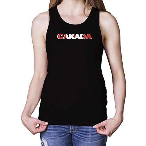 Idakoos Canada Country Flag Damen Tank Top M