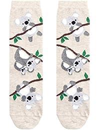 Accessorize Chaussettes motif koalas grimpants - Femme