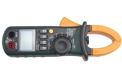 MASTECH Professional MS2108A 4000 points AC DC actuel Clamp Meter résistance multimètre numérique Ohm rétroéclairage
