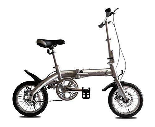 MASLEID 14 pouces enfants vélo alliage de pliage garçons et les filles étudiant mini-vélo