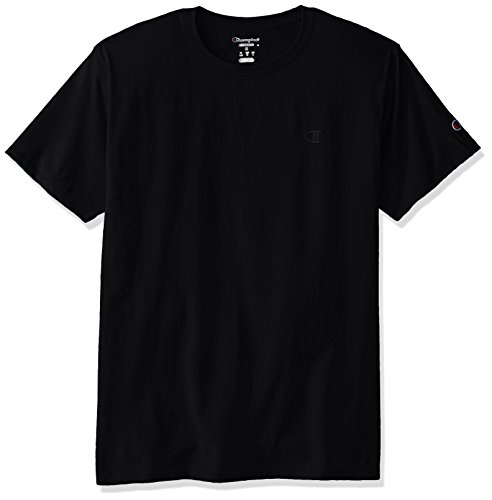 Champion Men's Classic Jersey Tee L Black -
