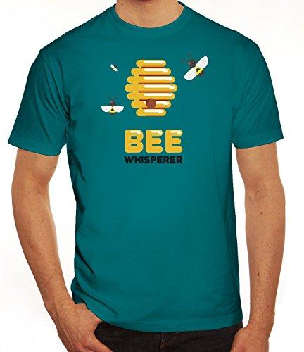 Imker Herren T-Shirt mit Bee Whisperer Motiv von ShirtStreet Diva