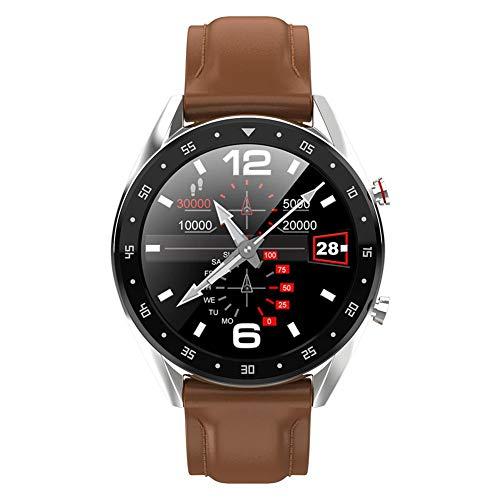 L7 Fitness Tracker für Herren Damen, Bluetooth Smart Armband Tracker Fitness Uhr, wasserdichte Sport Smart Armband für Android und iOS