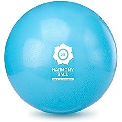 Harmony Ball Air/Fascia pelota/Yoga/Pilates pelota de gimnasia -- ftalatos - pálido (Azul, 18 cm)