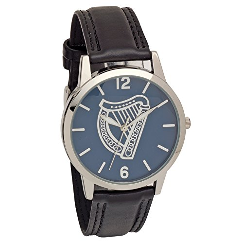 celtic-collection-watch-black-leather-strap-embossed-harp-dial-3160j