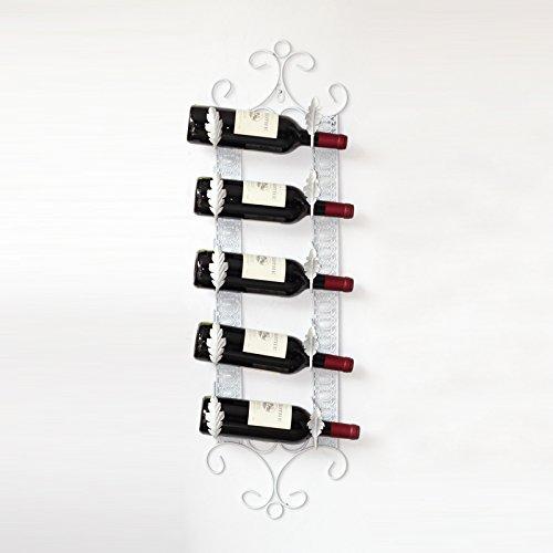 Große Eiserne Wand (FYM Regal DYF Wine Rack Europäischen Kreativen eiserne Wand Zeigen Home Bar Dekoration Anhänger, C)