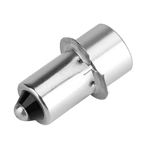 Asixx LED-Ersatzbirne, LED Birne für Taschenlampen Passend für P13.5S Lampenfassung, Sicher, Zuverlässig, Verschiedene Typ(4~12V-Weiß)