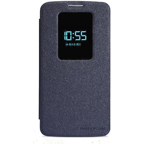 Negro Funda Case y Protector de Pantalla Para LG G2 D802 (sólo es compatible con LG G2 / no es compatible con LG G2 Mini) Nillkin NK30069