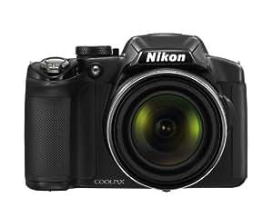Nikon Coolpix P510 Digitalkamera (16 Megapixel, 42-fach opt. Zoom, 7,5 cm (3 Zoll Display), GPS, bildstabilisiert) schwarz