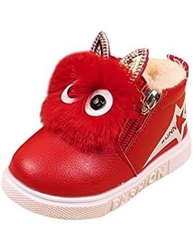 SamMoSon Bambini Moda Ragazze Ragazzi Sneaker Stivali Bambini Scarpe Casual Bambino Caldo
