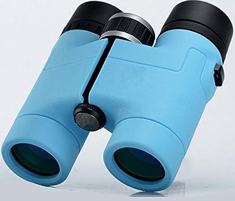 Lihong Fernglas 8*32 Hd High X Mini Pocket, Blau Grün Film Klassische Mode Tragbar Kinder-Teleskop (Zoom Film Kostüm)