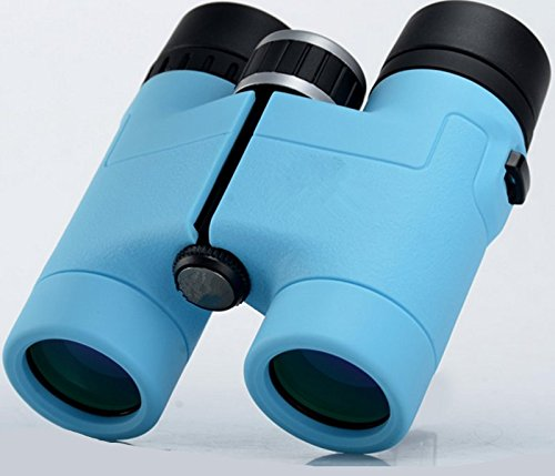 Film Zoom Kostüme (Lihong Fernglas 8*32 Hd High X Mini Pocket, Schwarz, Blau Film Klassische Mode Tragbar)