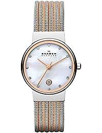 Skagen Damen-Uhren 355SSRS