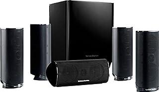 Harman/Kardon HKTS 16 Sistema de altavoces para Home Theatre de sonido envolvente de 5.1 canales que incluye 4 altavoces satélite dobles de rango medio, 1 altavoz central y un Subwoofer de 200 W, color negro (B003S9VW8E)   Amazon Products