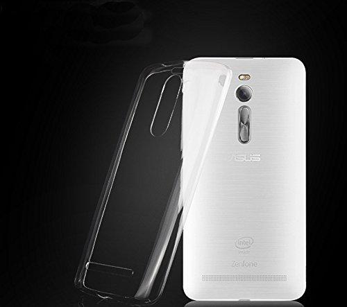 Cover Bazar' Asus Zenfone 2 Back Cover (Transparent Cover)