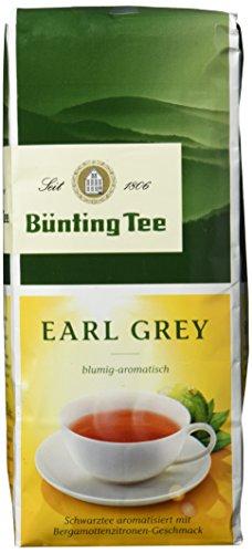 Bünting Tee Earl Grey 250 g lose, 7er Pack (7 x 250 g)