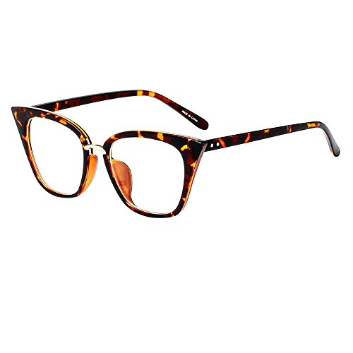 Storerine Mode Vintage Cat Eye Sonnenbrillen Retro Eyewear Fashion Sonnenbrille Frauen Luxus Große Schwarze Sonnenbrille Leopard Braun Weiblichen Spiegel Farben Damen