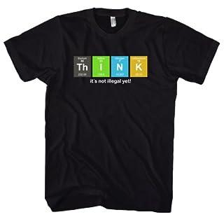 Geek Think - Science - Physics - Nerd 700794 Herren T-Shirt 001 M