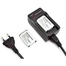 Mondpalast - Juego de cargador y baterías para Sony Cyber-shot DSC-RX100, DSC-RX100MII, DSC-RX1, DSC-RX1r, DSC-HX50V, DSC-HX300, DSC-WX300, HDR-AS15, AS30, AS100VR y GW66VE (2 baterías de 1240mAh, equivalente a NP-BX1)
