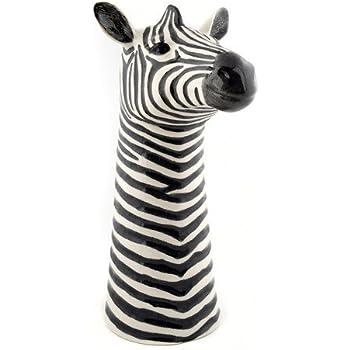 Quail Ceramics Zebra Flower Vase Amazon Kitchen Home