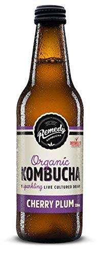 Remedy Kombucha Cherry Plum 12 x 330ml