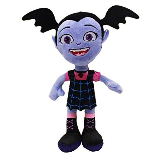 Troutyop Movie Junior Vampirina Giocattoli Peluche 28Cm, Bambola The Vamp Batwoman Girl Giocattoli farciti Peluche Regali per Bambini Bambini Ragazze