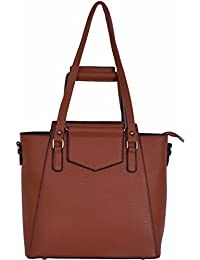 Brown Color Hand Carry Sling Bag For Women & Girl