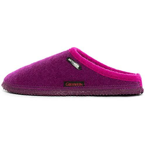 Giesswein Unisex-Erwachsene Dannheim Pantoffeln Hausschuhe, Violett (Veilchen 692), 39 EU