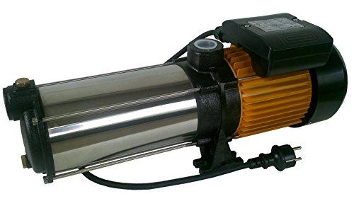 Mehrstufige Kreiselpumpe megafixx HMC8SC 1700 Watt bis 8,5 BAR - 8 Stufen - Laufräder aus Edelstahl -