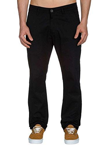 Reell Straight Flex Chino pantalon Noir