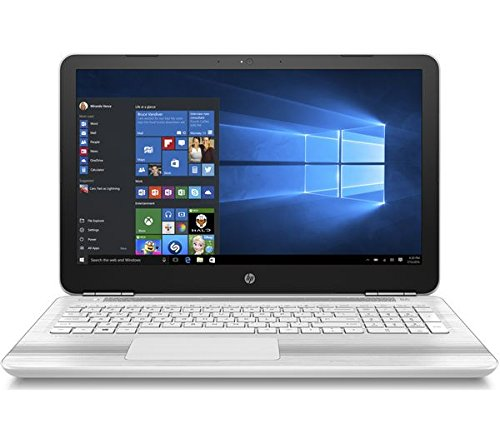 HP Pavilion 15-AU150SA (Z6M08EA#ABU) 15.6-inch Laptop Intel Core i5-7200U 2.5 GHz / 3.1 GHz Processor, 8GB RAM, 256GB SSD, 1366 x 768 Screen Resolution, DVDRW, HDMI, Bluetooth 4.2, USB 3.1, SD Card Reader, Up to 9 hours Battery, Windows 10 Home