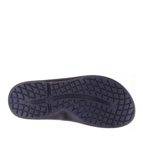 OOFOS Ooriginal Thong, Sandales de Sport Femme Bleu Marine