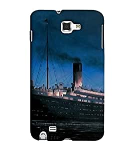 EagleHawk Designer 3D Printed Back Cover for Samsung Galaxy Note 2 - D735 :: Perfect Fit Designer Hard Case