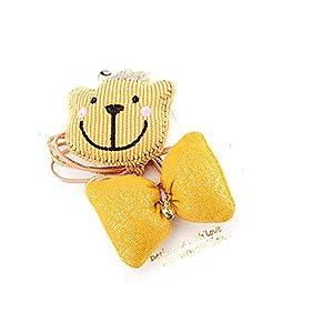 @Y.T Kinder Bär Cord Baumwoll Bär Haar Ring niedlichen Bogen Set Mädchen Schmuck