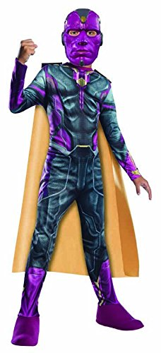 Vision Kostüm Marvel (Vision Kinder The Avengers 2 Kostüm ,)