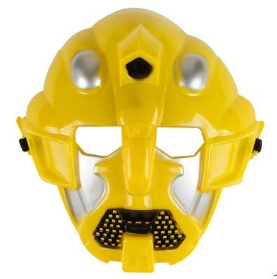 Kostüm Hornet - HLJZK Halloween Revenge Children's Cartoon Alliance Deformation Mask Ordinary Hornets 21*18.5Cm