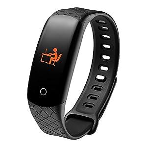 Etophigh CB608 Fitness Tracker, reloj de monitor de actividad inteligente con pantalla a color, brazalete de ritmo cardíaco con presión arterial con oxígeno 1