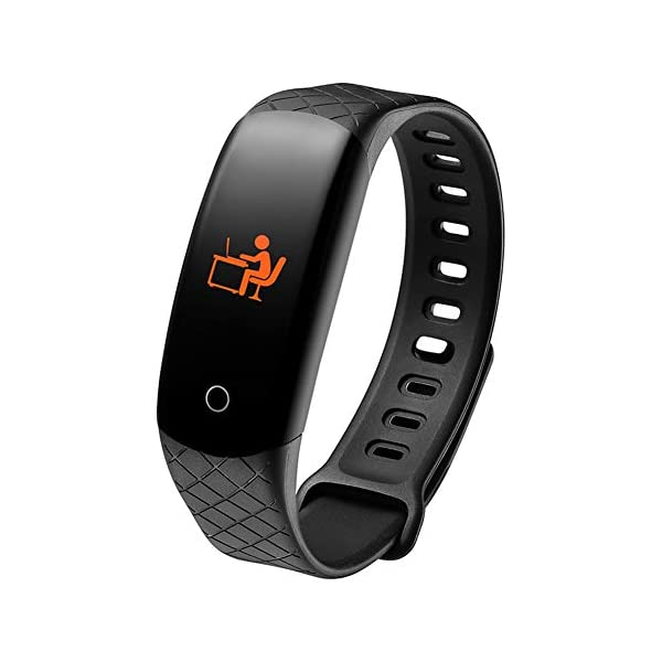 Etophigh CB608 Fitness Tracker, reloj de monitor de actividad inteligente con pantalla a color, brazalete de ritmo… 1