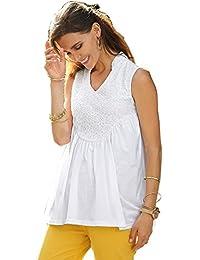 520f2fe6a8 VENCA Camiseta de línea evasé Mujer by Vencastyle - 014375