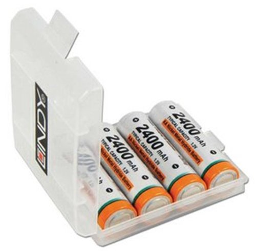 Lindy 84864 Kit de piles rechargeables 2400 mAh